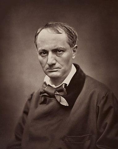 Portrait de Charles Baudelaire, par Étienne Carjat